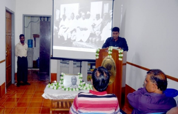 "Observance of ""Rashtriya Ekta Diwas (National Unity Day)"" and birth anniversary of Sardar Vallabhbhai Patel at CGI Sittwe"