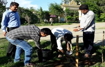 World Environment Day Celebration at CGI Sittwe on 5th June, 2018