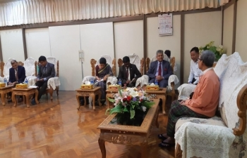 Meeting with CM, Speaker and RSCC