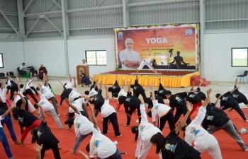 5th International Day of Yoga Celebration 2019 at CGI Sittwe
