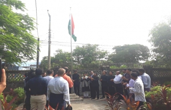Celebration of 73rd Independence Day of India at the Consulate General of India Sittwe, Myanmar' on 15th August 2019