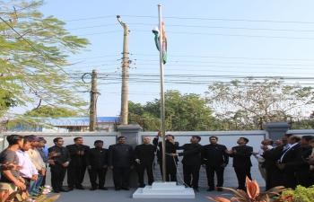 71st Republic Day of India, 2020 Celebration at Sittwe