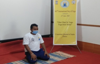6th International Day of Yoga Celebration 2020