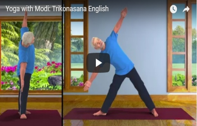 Yoga with PM Modi - Animated Videos